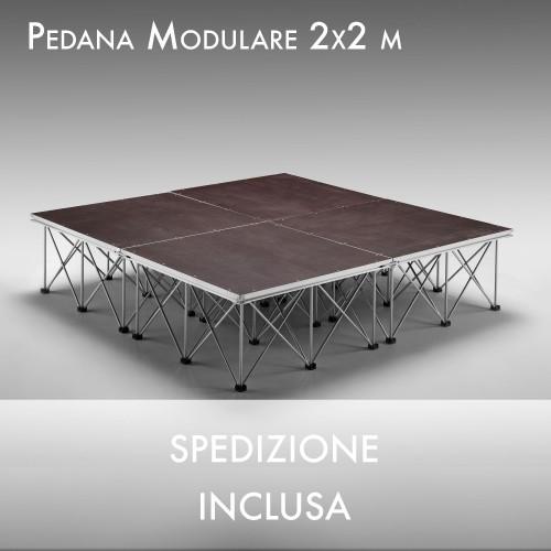 Occasione Palco modulare 200 x 200 H20cm
