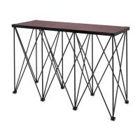 Tavolino richiudibile 50x142 Black