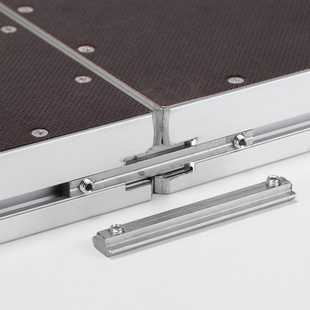 giuntura perimetro per pedane modulari